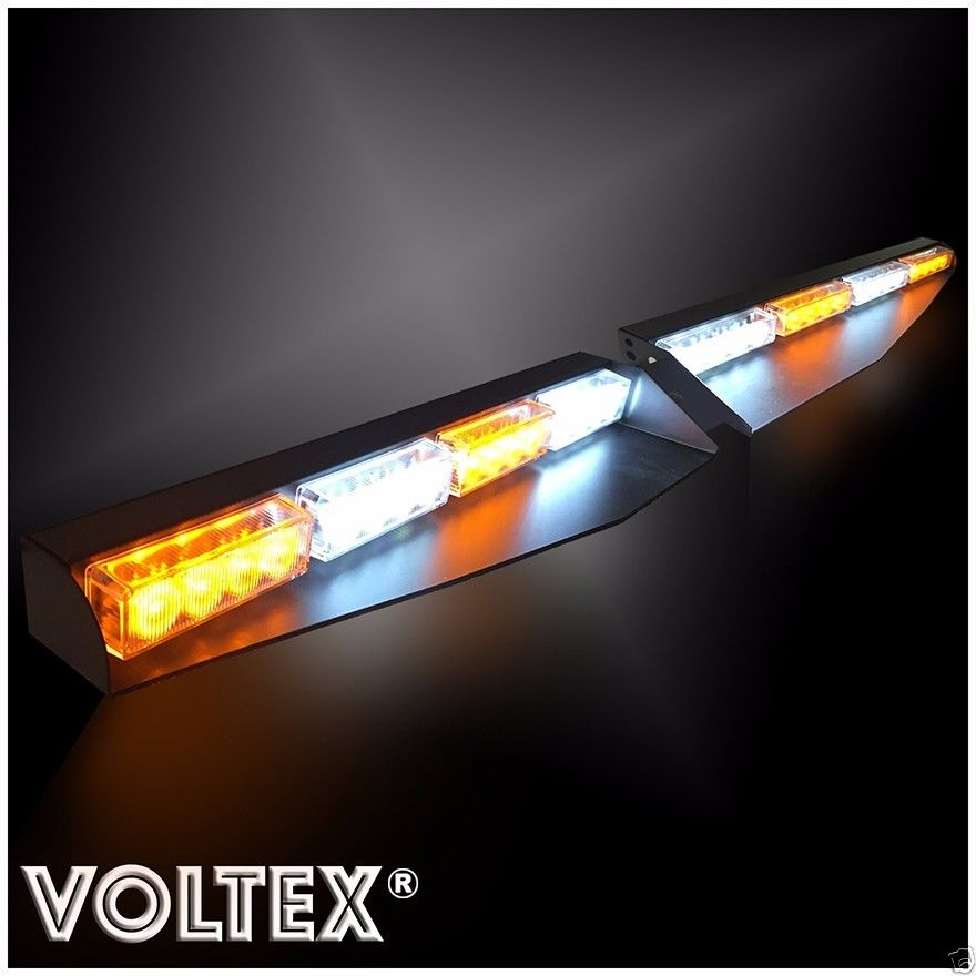 Voltex redhawk quad split visor led lightbar aloadofball Image collections
